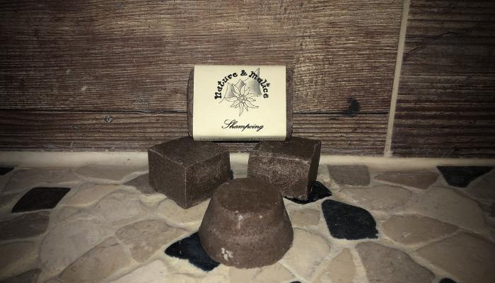 Shampoing Solide Artisanal et Naturel au Rhassoul