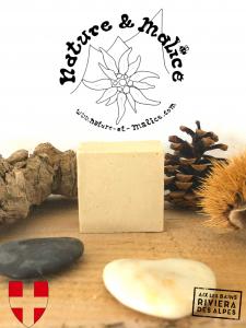 Shampoing Solide Artisanal et Naturel au Miel de Savoie et à l'Argile Blanche